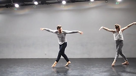 excerpt from InContact choreographed by Shawn Bible. April 2017.  Center for Performance Research.