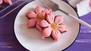 Peach Blossom Pastry
