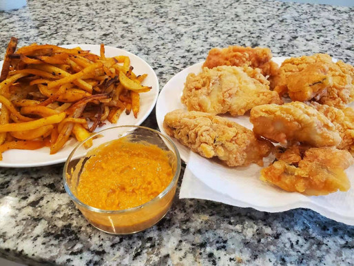 Crispy Fish & Chips