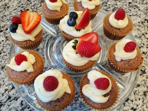 Summer Berry Cupcake