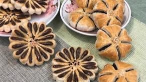 Plum Blossom & Chrysanthemum Pastry
