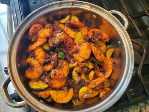 Dry Hot Pot Shrimp