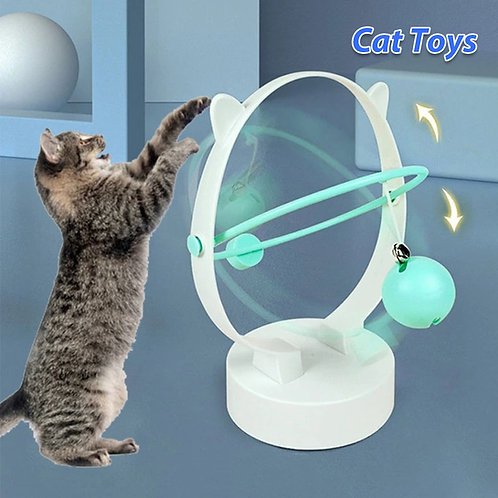 Cat Toy Automatic Electric Cat Training Toys Cat Teaser Interactive Funny Cat