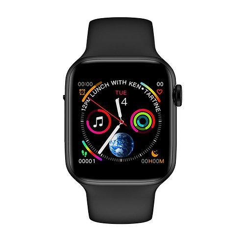 w34+  שעון חכם מודד קצב לב