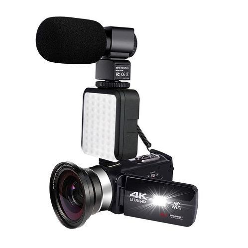 מצלמת וידאו 48 מיגה פיקסלים 4 k