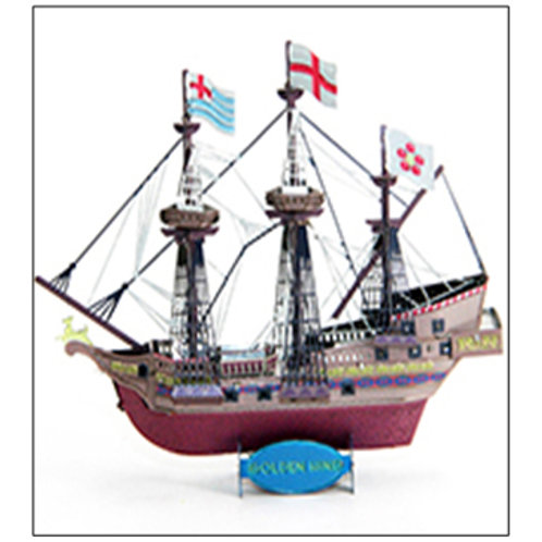 Golden Hind-colorful