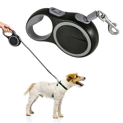 Retractable Dog Leash 5M Strong Nylon Leash for Dog Extending Puppy Pet Dog