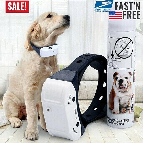 Dog Trainings Stop Barking Rechargeable Citronella Dog Collar Anti Bark Train