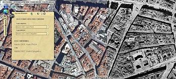 Una plataforma 'online' creada por expertos del CSIC permite comparar mapas de Madrid de distintas épocas históricas