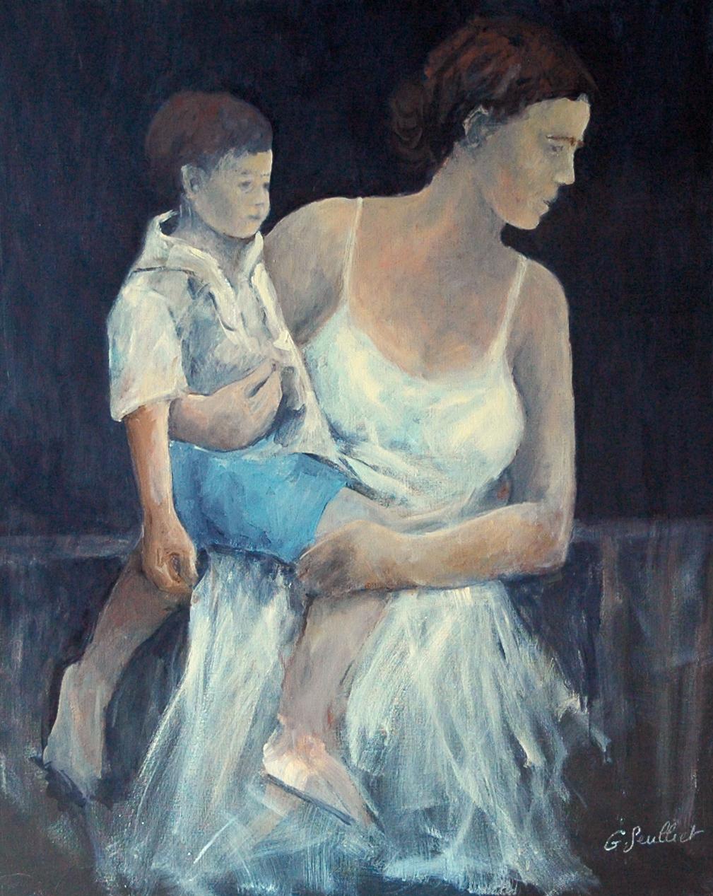 Mère_et_enfant_-_100x81_-_2016