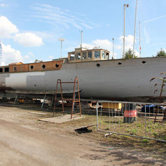 Glala undergoing restoration 2016.JPG