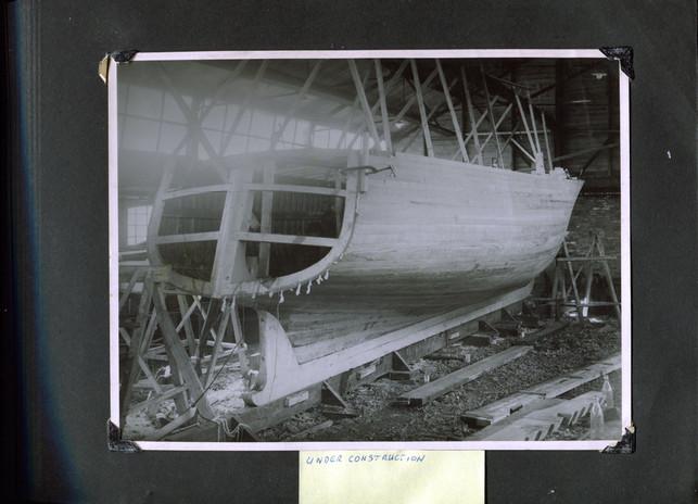 GYA VENTURE UNDER CONSTRUCTION 1938