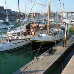 2. Amazone and Stenoa at Ramsgate prior