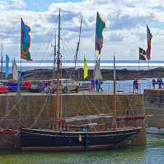 3. Lizzie at Mousehole..jpg