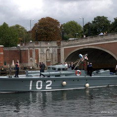 7. MTB 102, a rare visitor to the Thames