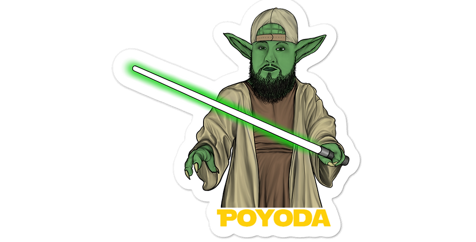 PoYoda stickers
