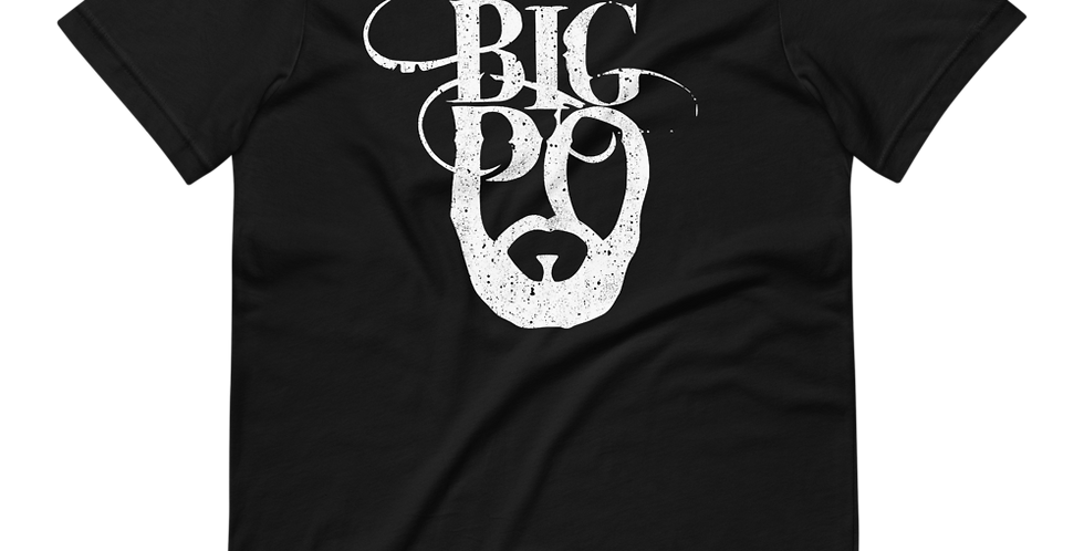Distressed Big Po Short-Sleeve Unisex T-Shirt