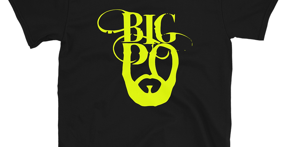 Neon Big Po Logo Short-Sleeve Unisex T-Shirt