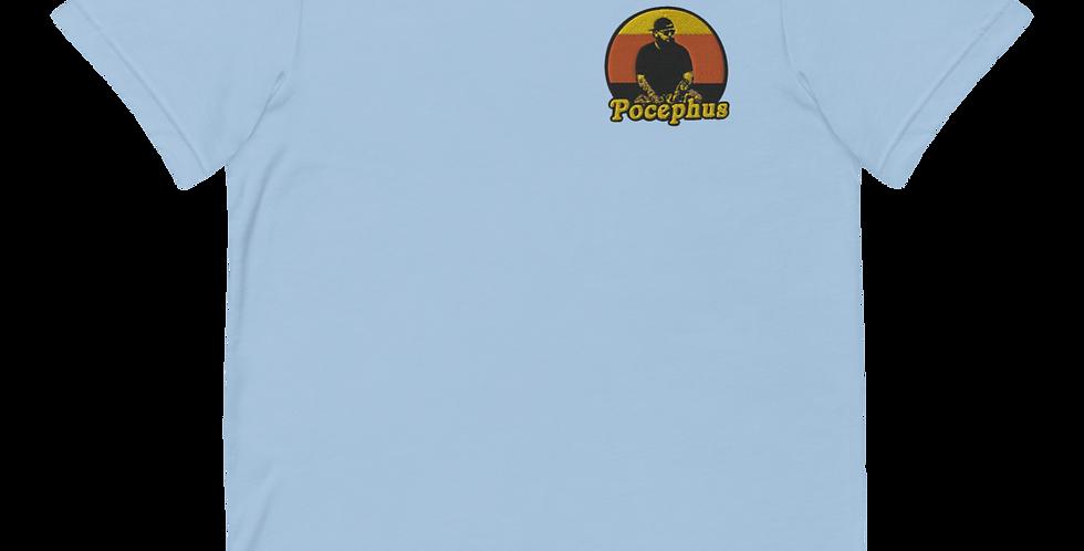 Pocephus Embroidered Short-Sleeve Unisex T-Shirt