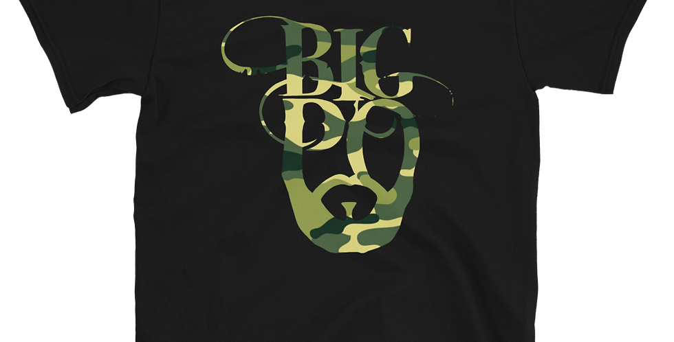 Camo Big Po Logo Short-Sleeve Unisex T-Shirt