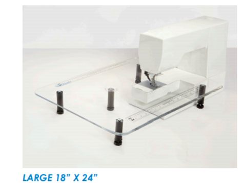 Large 301 Clear Sew Steady ExtensionTable