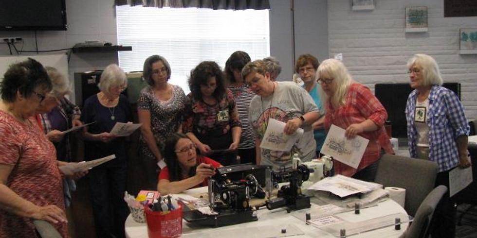 Featherweight Maintenance Workshop @ Pittsburgh Creative Arts Festival