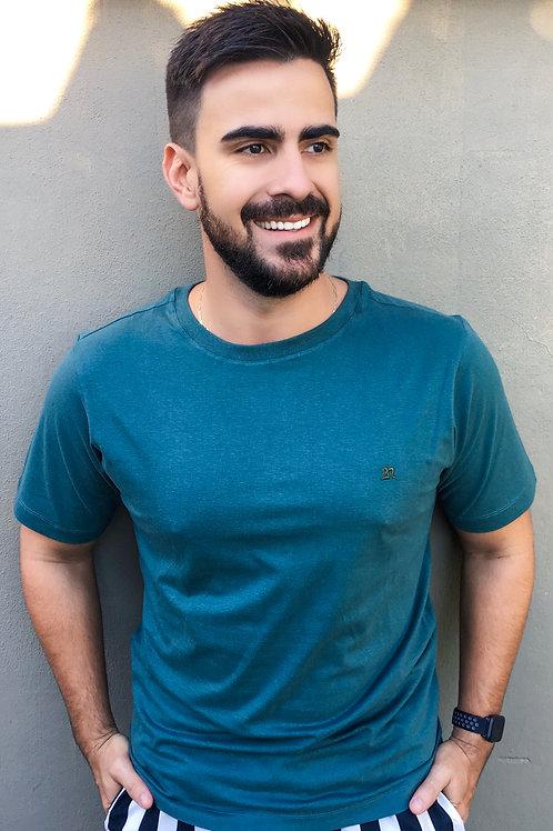 Camisa T-Shirt 2n Bordada Básica - Verde