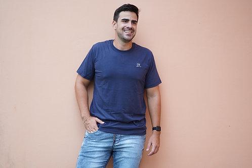 Camisa T-Shirt 2n - Bordada Azul Marinho