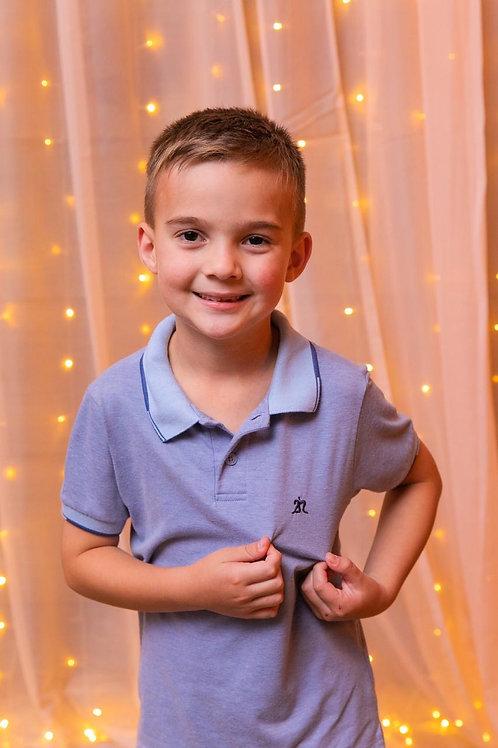 Camisa Polo Infantil 2n - Supreme Vellutato