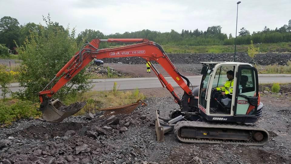 6 Tonns graver