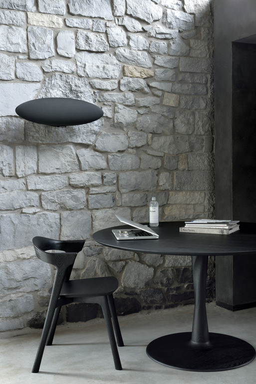 50012 Torsion dining table - Oak black 5