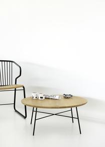26607 Disc coffee table - Oak 26694 Gabb