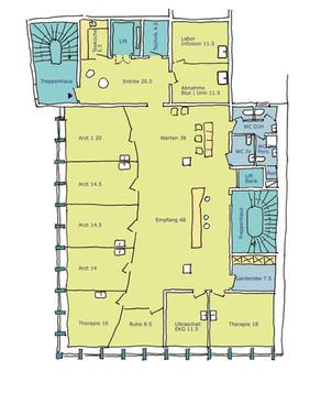 Ambulatorium für Hausärzte in Kleinbasel