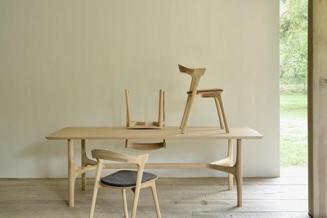 50128 Nexus dining table - oak & 51489 B
