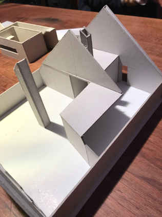 Modell Dachausbau Bantiger