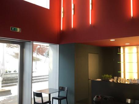 Farbkonzept Artcafé Franz Gertsch Museum