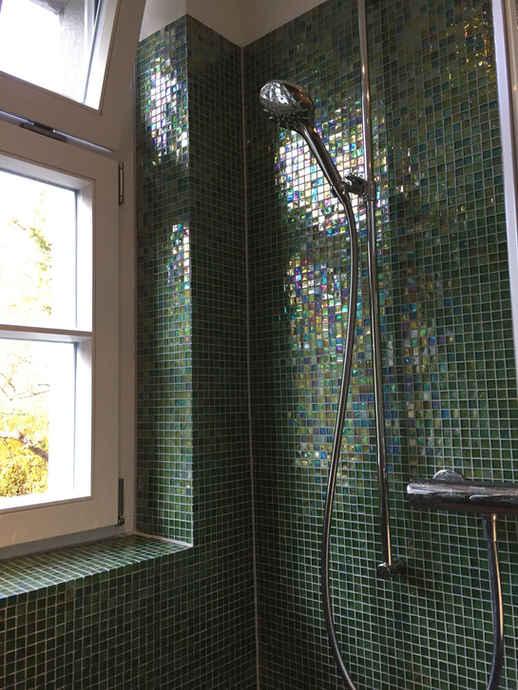 Badezimmer Glasmosaik Muri