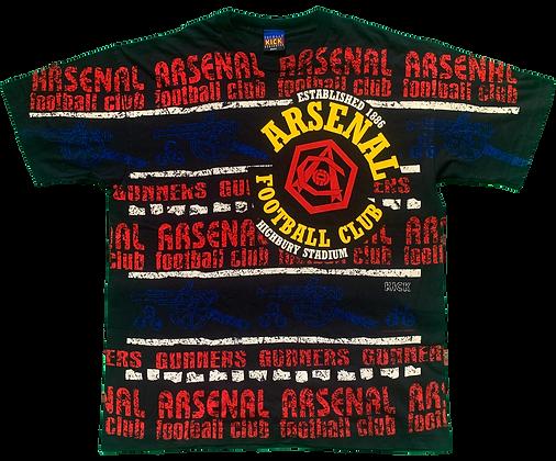 Kick Football x Arsenal All Over Print Tee