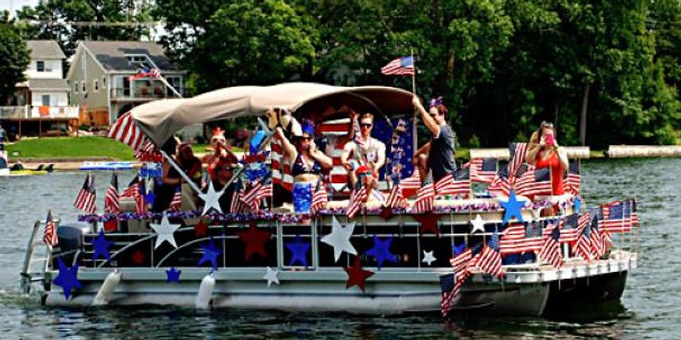 Johnson Lake Boat Parade