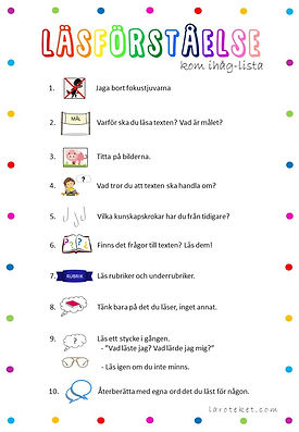 Läsförståelse - kom ihåg-lista.jpg