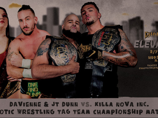 Tag Team Championship To Be Defended 2/7 in Hudson, MA