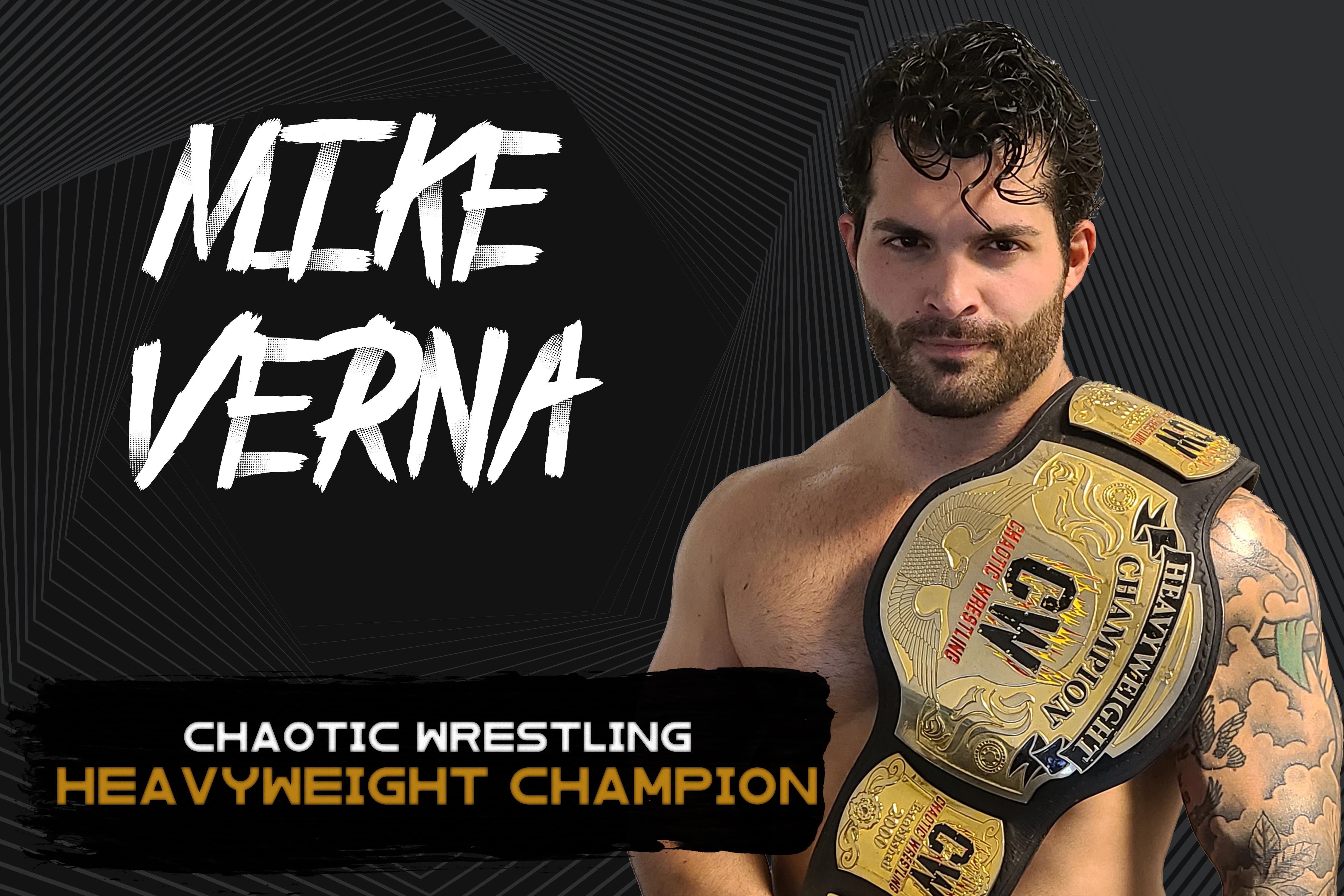 Mike Verna Heavyweight Champ