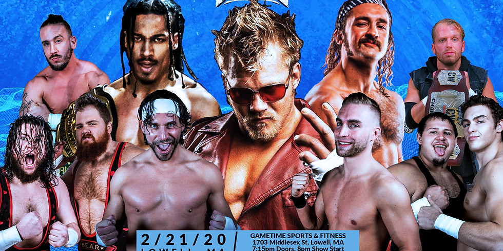 ROAD TO COLD FURY LIVE EVENT- LOWELL, MA