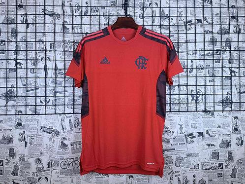 Camisa Flamengo Treino 21/22 Vermelho