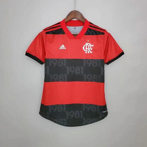 Camisa Flamengo Home Feminino 21/22