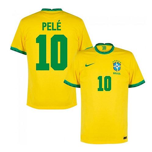 Camisa Seleção Brasil Pelé 10 Home 20/21
