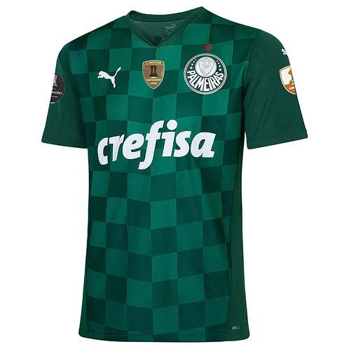 Camisa Palmeiras Home C/P Libertadores 2021