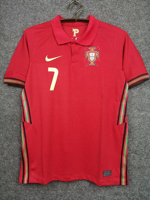 Camisa Seleção Portugal Ronaldo 7 Home 20/21