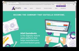 Atlatl Software Website Design