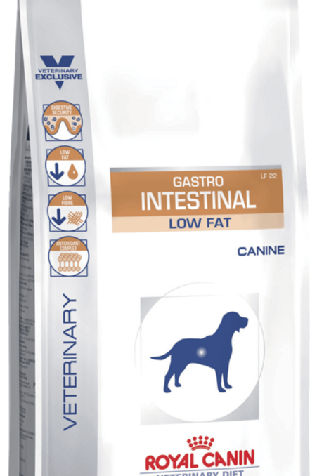 Сухой корм 12 кг Royal Canin Gastro Intestinal Low Fat LF22 для собак, без жира